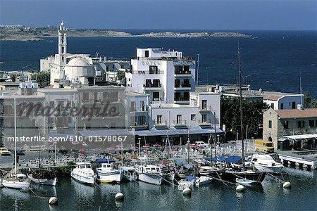 Cyprus, Kyrenia, harbour
