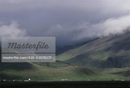 Iceland, Skogar, Icelandic landscape