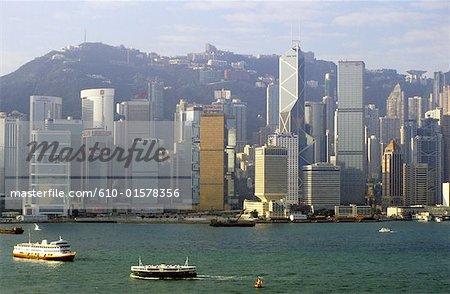China, Hong Kong, Central District, Bank of China tower