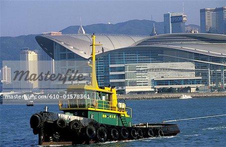 China, Hong Kong, Convention and Exhibition Centre