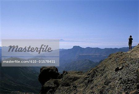 Spain, Canary Islands, Gran Canaria, Roque Nublo