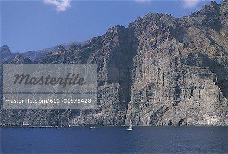 Spain, Canary Islands, Tenerife, Los Gigantes