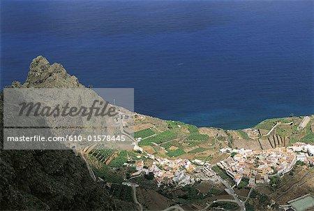Spain, Canary Islands, La Gomera, Agulo
