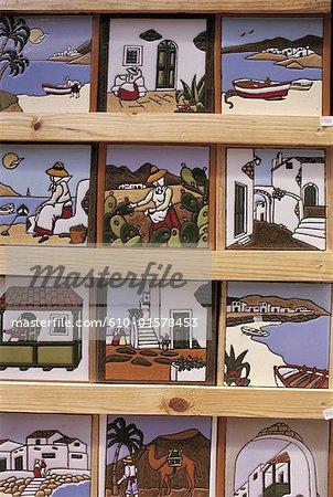 Spain, Canary Islands, Lanzarote, craftwork