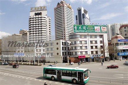 China, Yunnan, Kunming, traffic