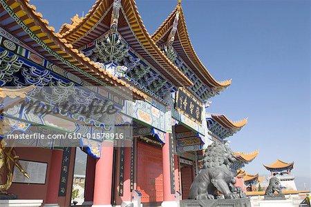 China, Yunnan, Dali, Chongsheng Temple