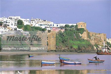 Morocco, Rabat, city walls
