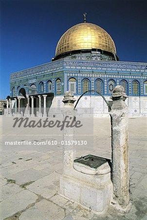 Israel, Jerusalem, Dome of the Rock