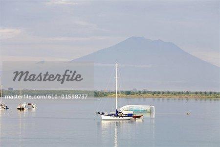 Indonesia, Bali, leisure boats