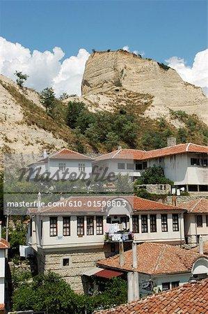Bulgaria, Melnik, habitations