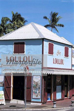 """Reunion, Saint-Gilles, old shop """"chez loulou"""""""