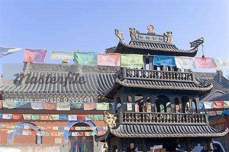 China, Shanxi province, Mount Wutai, Taihuai, Tayuan temple