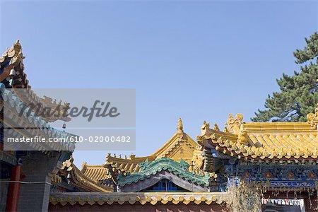 China, Shanxi province, Mount Wutai, Pusading temple and monastery
