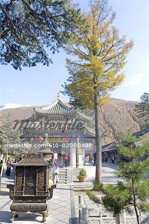 China, Shanxi province, Mount Wutai, Dailuoding temple