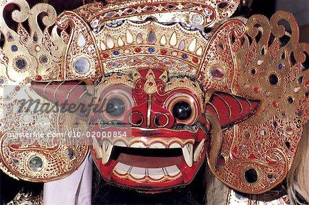Indonesia, Bali, traditional mask