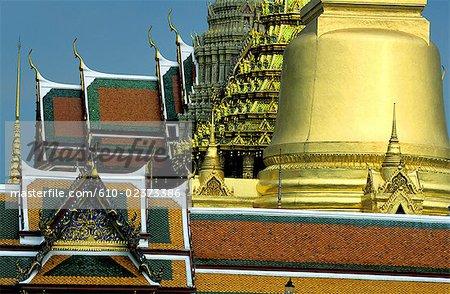 """Thailand, Bangkok, Grand Palace and emerald Buddha temple """"Wat Phra Keo"""""""