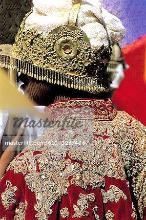 """Ethiopia, Wollo region, Lalibela, epiphany celebration """"Timkat"""", procession"""