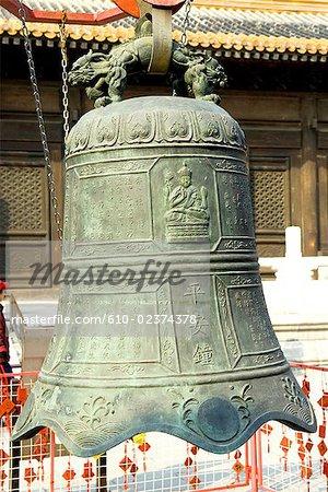 China, Beijing, Beihai park, bell