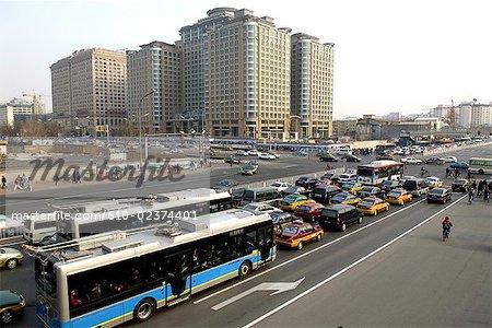 China, Beijing, traffic