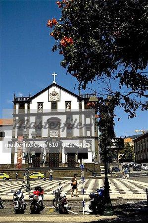Portugal, Madeira, Funchal, town hall