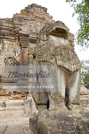 Cambodia, Angkor, Roluos