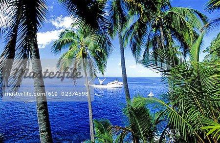 French Polynesia, Marquesas archipelago, Fatu Hiva island.