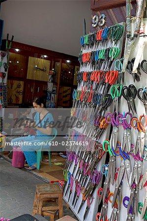 Vietnam, Ho Chi Minh city, Chinese district of Cholon, Binh Tay market.