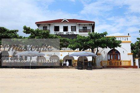 Tanzania, Zanzibar (Unguja island), Zanzibar city, Stone Town, hotel.