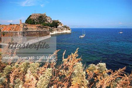 Greece, ionian islands, Corfu, citadel of Kerkyra.