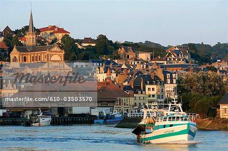 France, Normandy, Trouville sur Mer, church Notre Dame des victoires