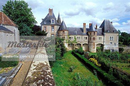 France, Centre, castle of Monleans