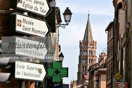 France, Languedoc, Toulouse, Saint Sernin basilica