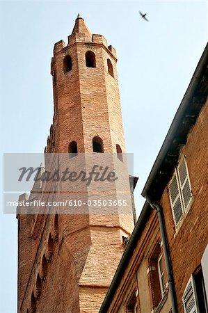France, Languedoc, Toulouse, church Notre Dame du Taur