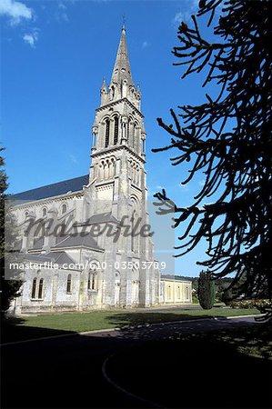 France, Normandy, Soligny la Trappe, the abbey
