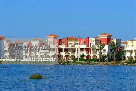 Morocco, Sadia, touristy complex