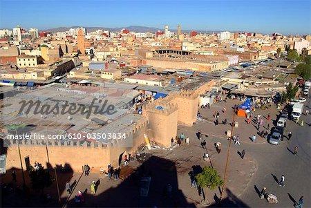 Morocco, Oujda, the souq