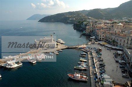 Italy, Sicily, Aeolian islands, Lipari