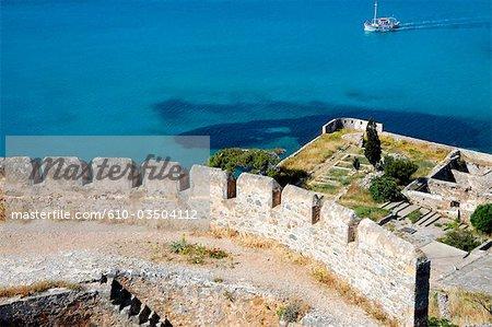 Greece, Crete, Spinalonga island, fortress