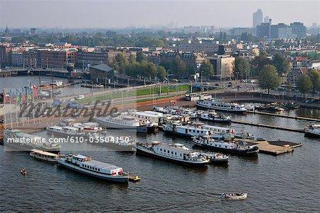 The Netherlands, North Holland, Amsterdam, port
