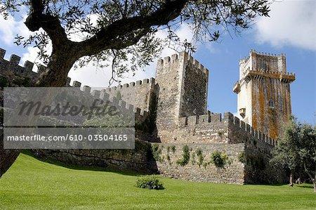 Portugal, Alentejo, Beja, castle