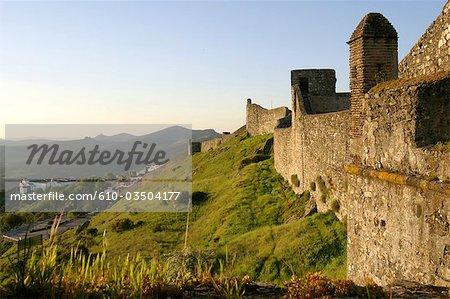 Portugal, Alentejo, Marvao, fortified village