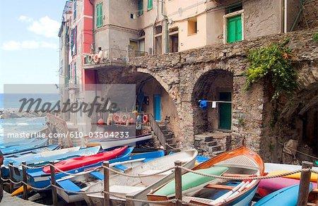 Italy, Liguria, Riomaggiore