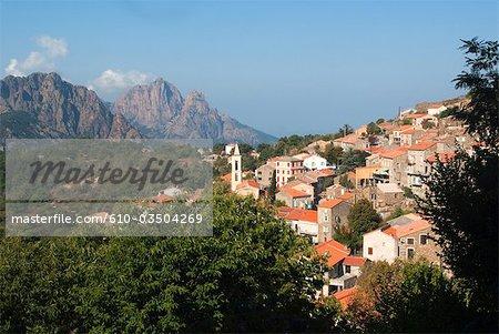 France, Corsica, Evisa