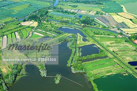 France, Pas-de-Calais, Audomarois marsh, Clairamarais
