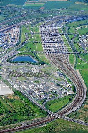 France, Pas-de-Calais, Eurotunnel