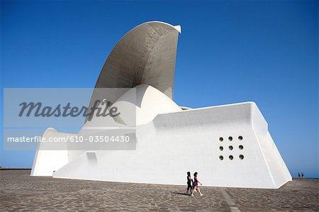Spain, Canary islands, Tenerife, Santa Cruz, public studio