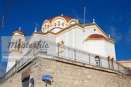 Cyprus, Lefkara, orthodox church