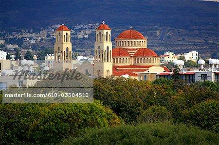 Cyprus, Paphos, Agioi Anargyroi church