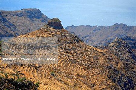 Spain, canary islands, Gomera, volcano