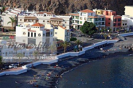 Spain, canary islands, Gomera, Playa Santiago